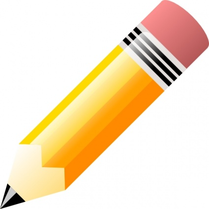 pencil clip art f